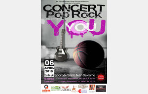 Concert You 6 avril 2019